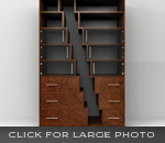 Stagger Bookshelves by SIDD
