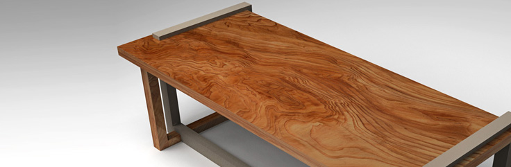 Fitt Bench / Table by SIDD Fine Woodworking