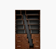 Stagger Bookshelves